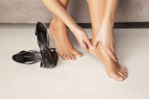 Házi praktikák lábfájás ellen